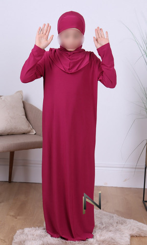 Child hijab prayer dress...