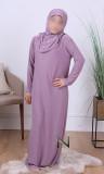 Child hijab prayer dress RHE003