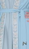 Abaya kimono XVIII embroidery and sequins