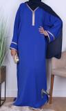 Gandora GD001 Saphyr fabric (like Medina silk) and golden sfifa