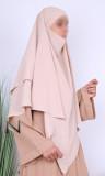 Khimar 2 veils KH07 Jazz fabric