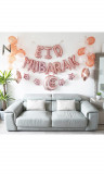Maxi kit Eid Mubarak 35 balloons