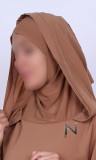 Abaya hijab butterfy Nesrine hood
