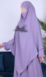 Khimar 2 veils KH08 light microfiber