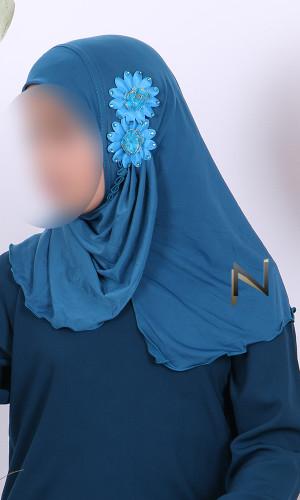 Hijab MSE04 flowers