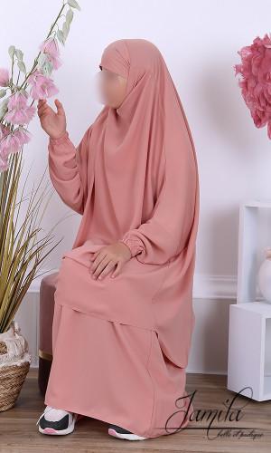 Jilbab 2 pieces skirt girl...