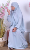 Jilbab 2 pieces skirt girl JBE03 microfiber