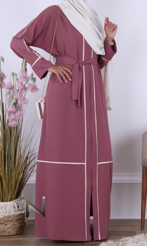 Kimono Abaya Tesnim two-tone