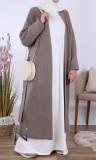 Maxi cardigan GL66 wool