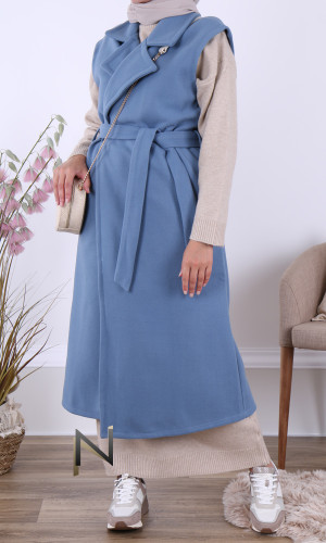 Long coat MCL30 sleeveless...
