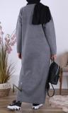 Maxi sweater dress RLP114 high neck