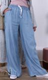 Pants wide PLP17 light jeans