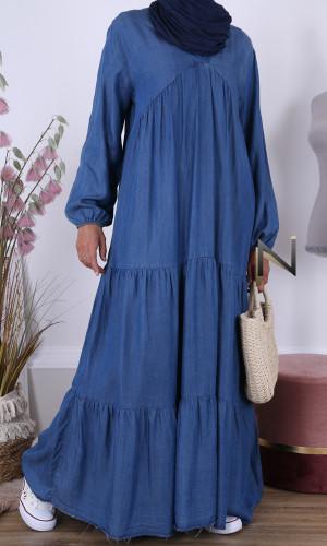 Bohemian denim dress RLP116...